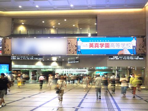 阪急 梅田駅 デジタルサイネージ 阪急梅田グランドビジョン